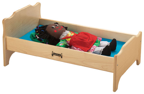 "Jonti-Craft 0215JC 16"" W x 27"" L Doll Bed"
