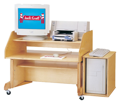 Discount Electronics On Sale Jonti-Craft 0346JC Computer Desk