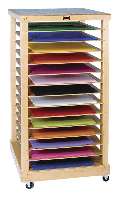 "Jonti-Craft 0386JC 49"" H Paper Rack"