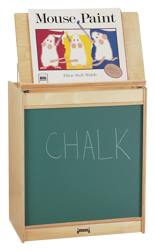 Jonti-Craft 0542JC BIG BOOK EASEL - CHALKBOARD