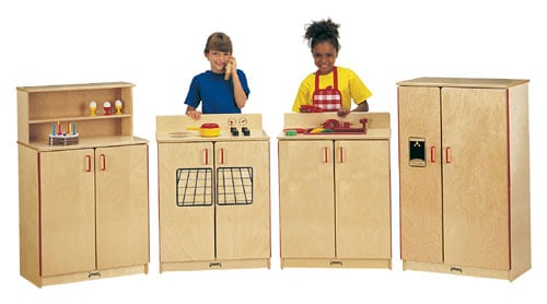 Jonti-Craft 2030SA SCHOOL AGE KITCHEN SET - 4 PIECE SET