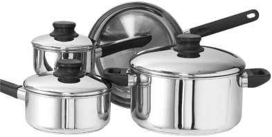 Kinetic 12000 Kitchen Basics 7 Piece Set Stainless Steel