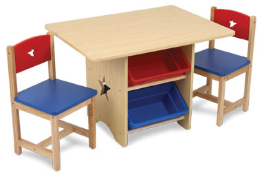 Kid Kraft Star Table and 2 Chair Set 26912