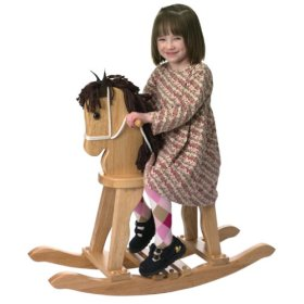 KidKraft 19621 Derby Rocking Horse - Natural