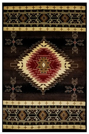 LA Rug 1305/06 0204 Cosmos Collection 1305/06 Rug 2 x 4 Ft