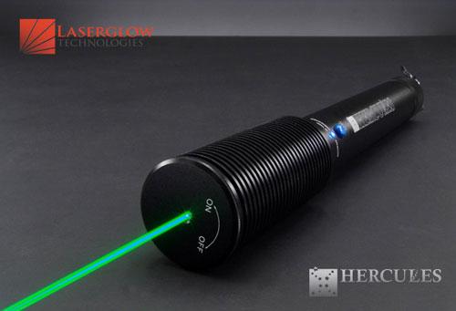 Laserglow Technologies HERCULES-350 Hercules-350 Handheld Green Laser >350mW