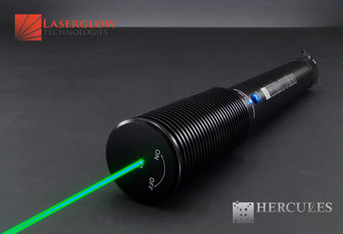Laserglow Technologies HERCULES-400 Hercules-400 Handheld Green Laser >400mW