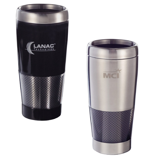 1620-35BK 16 Oz. Carbon Fiber Tumbler - Black