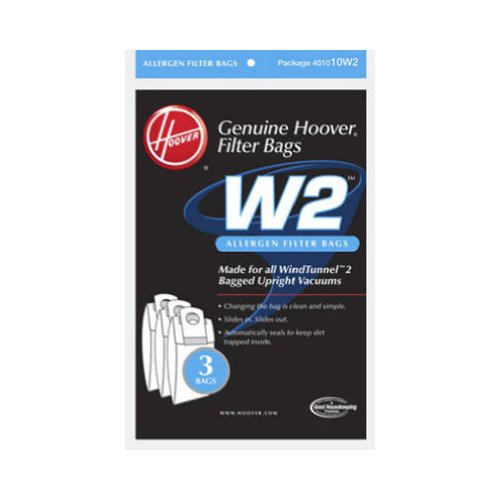 Hoover Vacuum Cleaner Bags - Hoover 401010W2 Hoover WindTunnel 2 Vacuum Cleaner Allergen Filter Bags 3pk