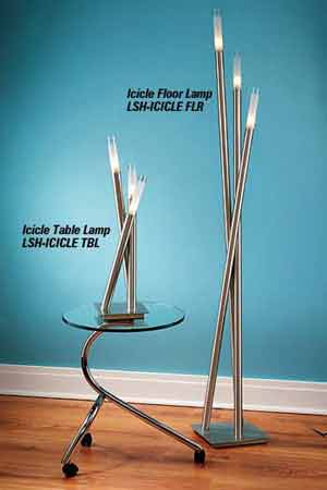 Lumisource LSH-ICICLE TBL Icicle Table Lamp