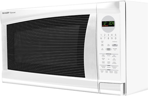 Sharp R520LWT 2.0 cu.ft  1200 Watts Full Size Microwave at Sears.com