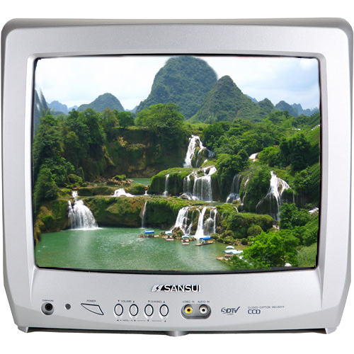 Sansui Dtv1300 13 Color Digital Tv Atsc/qam (silver) Picture