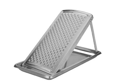 MIU France Stainless Steel Parmasean Cheese Grater