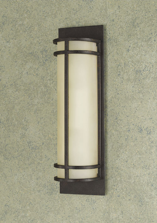 Feiss WB1282GBZ The Fusion Collection Grecian Bronze Wall Bracket - 2 Light (Ada)