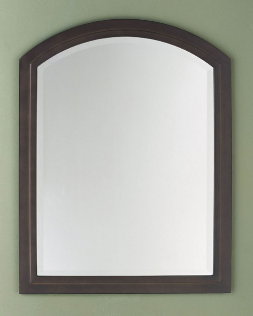 Feiss MR1042ORB Modern Country Oil Rubbed Bronze Beveled Mirror