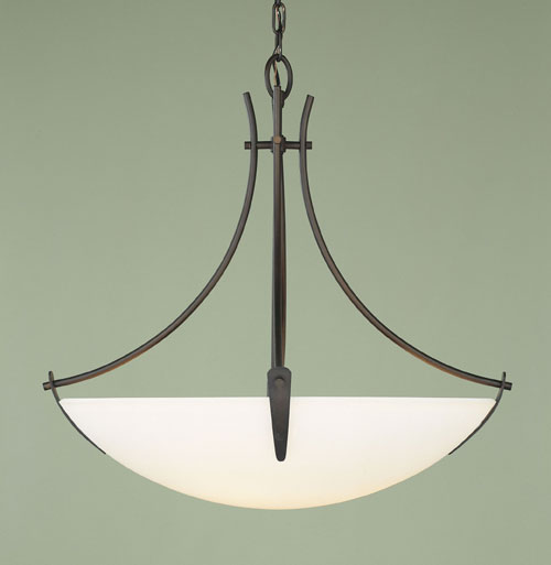 Feiss F1889/3ORB Boulevard Collection Oil Rubbed Bronze Chandelier - Uplight
