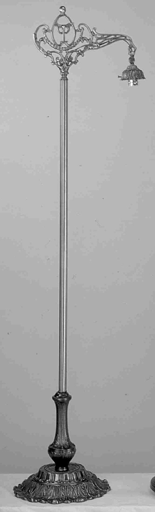 Meyda Tiffany 10847 60 Inch Flr Bse/Brdg Arm/2.25 Inch /No Onyx