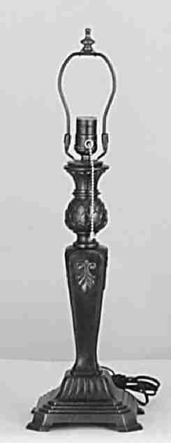 Meyda Tiffany 11784 15 Inch Fleur De Lis Base