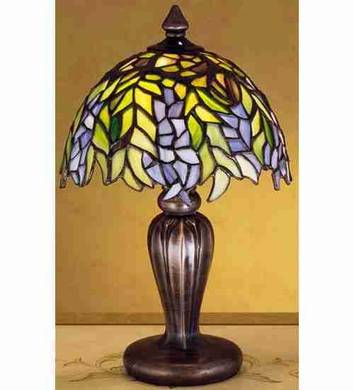 Meyda Tiffany 27022 7 Inch Tulip Vase Base/Mini Set-Up