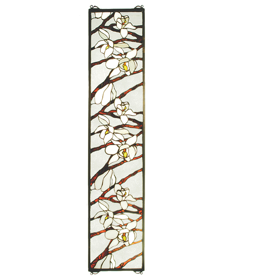 Meyda Tiffany 47887 9 Inch W X 42 Inch H Magnolia Window