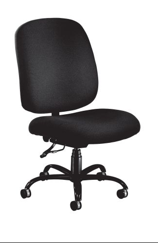 OFM 700-236 Big and Tall Chair - Black