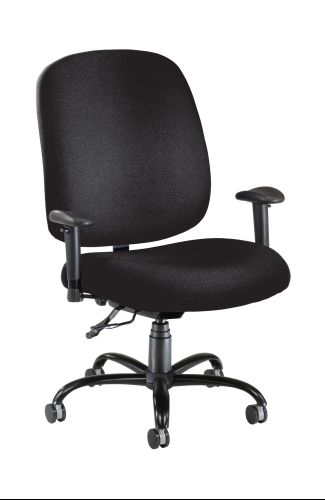 OFM 700-AA6-236 Big & Tall Chair with Arms - Black