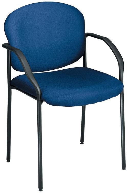 OFM 404-804 Guest-Reception Chair - 4 Legs - Navy