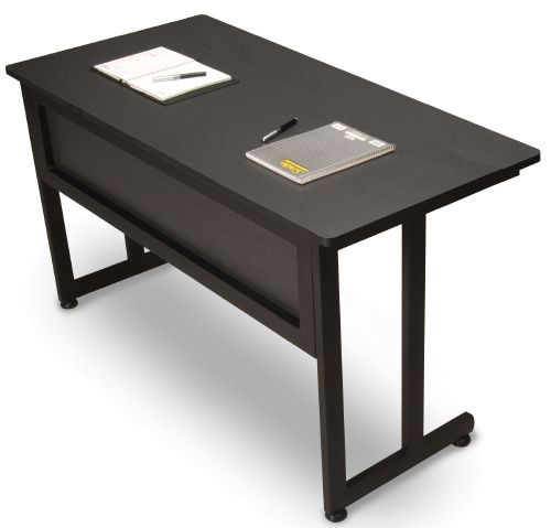OFM 55142-GRPT Modular Training-Utility Table 55x24 Inches - Graphite and Black