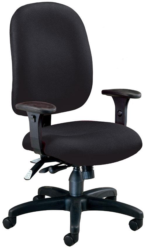 OFM 125-805 Ergonomic Executive-Computer Task Chair - Black