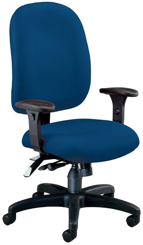 OFM 125-804 Ergonomic Executive-Computer Task Chair - Navy