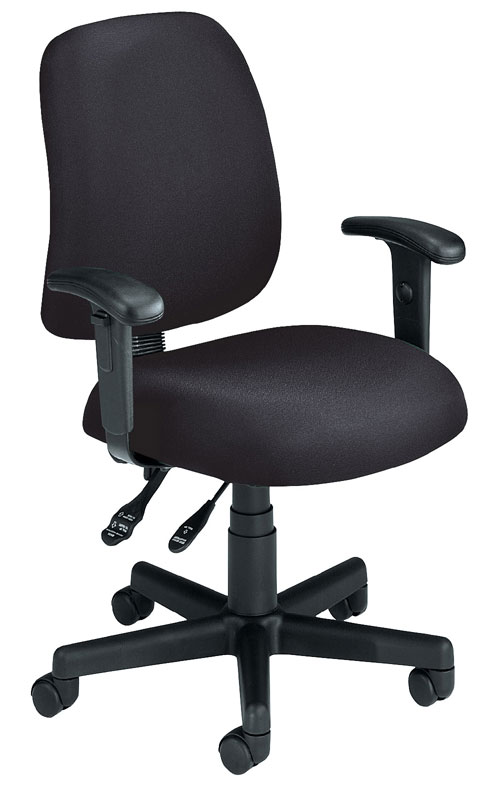 OFM 118-2-AA-805 Posture Task Chair with Arms-Black