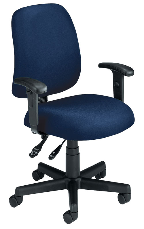 OFM 118-2-AA-804 Posture Task Chair with Arms-Navy