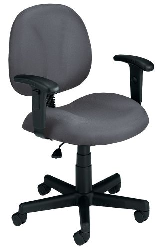 OFM 105-AA-DK-801 Superchair with Arms and Drafting Kit-Gray
