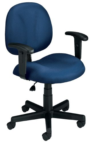 OFM 105-AA-DK-804 Superchair with Arms and Drafting Kit-Navy