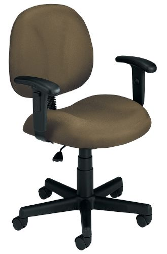 OFM 105-AA-DK-806 Superchair with Arms and Drafting Kit-Taupe