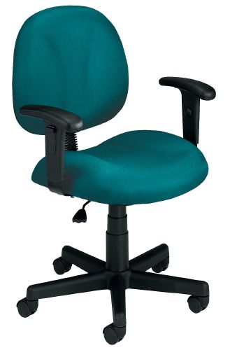 OFM 105-AA-DK-802 Superchair with Arms and Drafting Kit-Teal
