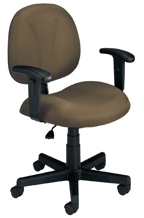 OFM 105-AA-806 Superchair with Arms - Taupe