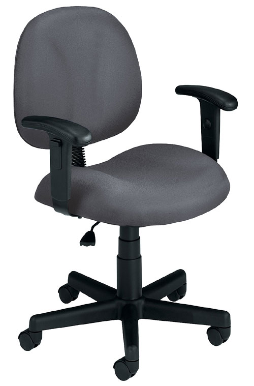 OFM 105-AA-801 Superchair with Arms-Gray