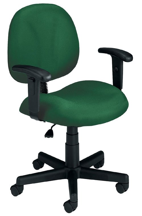 OFM 105-AA-807 Superchair with Arms-Green