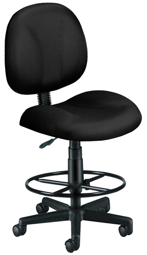OFM 105-DK-805 Superchair with Drafting Kit-Black