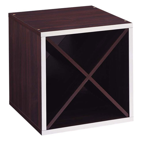 Organize It All 30904 Quadrant X Section Storage Cube