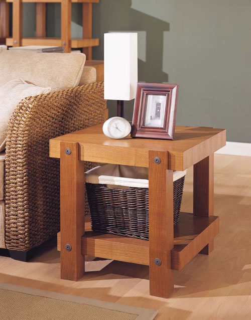Organize It All 39611 Robust End Table