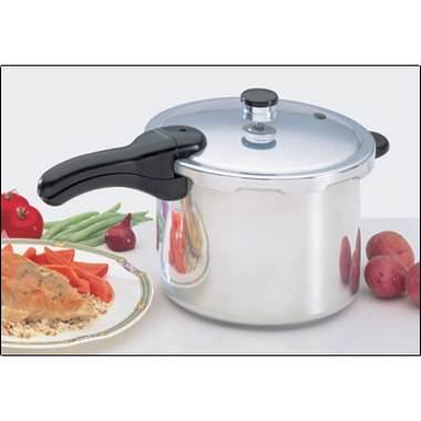 Presto 01264 6 Quart Aluminum Pressure Cooker