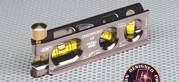 Checkpoint 303PL Checkpoint Torpedo Level Ultra Pro Mini- Mag - Platinum