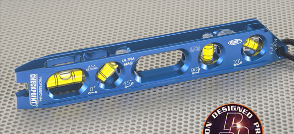 Checkpoint 300B Checkpoint Torpedo Level 4 Vial Ultra Pro Mag - Blue