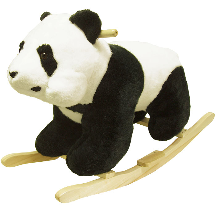 Poker 80-26PANDA Panda Plush Rocking Animal