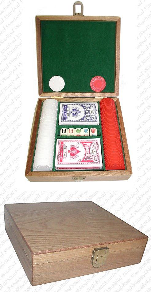 Poker 10-1010-1k 1000 Poker Chips Texas Hold em Set POKER5722