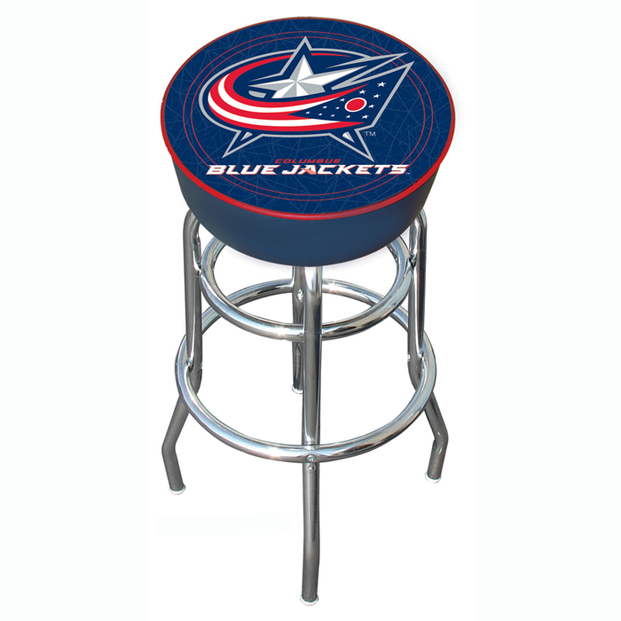 Columbus Blue Jackets - NHL Columbus Blue Jackets Padded Bar Stool