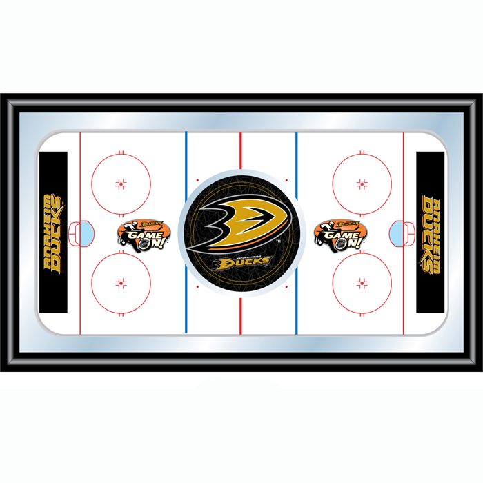 NHL Anaheim Ducks Framed Hockey Rink Mirror