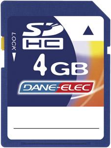 DANE-ELEC DA-SD-4096-R Secure Digital Card 4 GB
